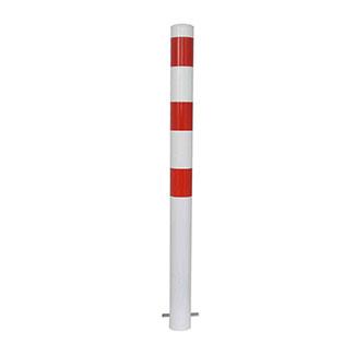dissuasore-acciaio-verniciato-bianco-rosso-bros-standard