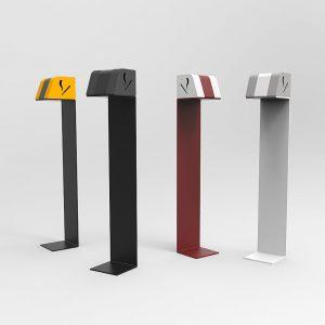 posaceneri da esterno design
