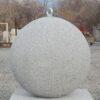 dissuasore in calcestruzzo sfera con base