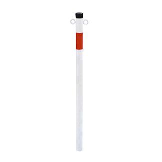 Dissuasore-a-paletto-in-acciaio-zincato-e-verniciato-bianco-rosso-bros-42