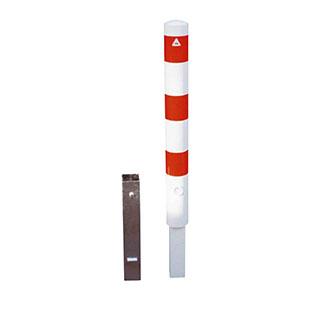 Dissuasore-a-paletto-in-acciaio-zincato-e-verniciato-bianco-rosso-bros-grande