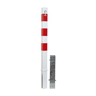 dissuasore-acciaio-zincato-verniciato-bianco-rosso-bros-quad