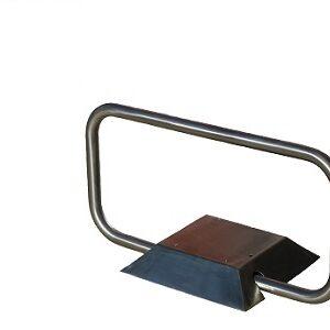 Dissuasore radiocomandato in acciaio inox