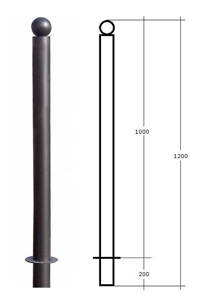 Dissuasore parigina modello SFERA80