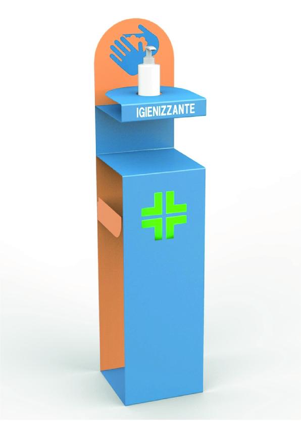 piantana porta dispenser