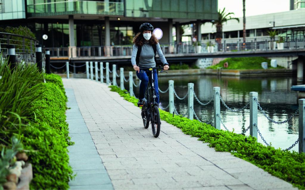 pista ciclabile arredo urbano