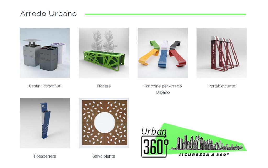 prodotti di arredo urbano